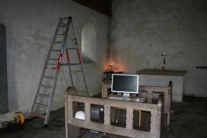 St Orans church setup 03